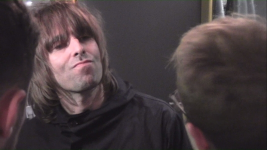 Liam Gallagher - still from a video by Christopher Irvine